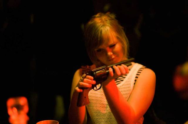 MARCELLO'S BASEMENT (2010): A musical larp based on the lyrics of the Norwegian band Kaizer's Orchestra. Photo: Li Xin.