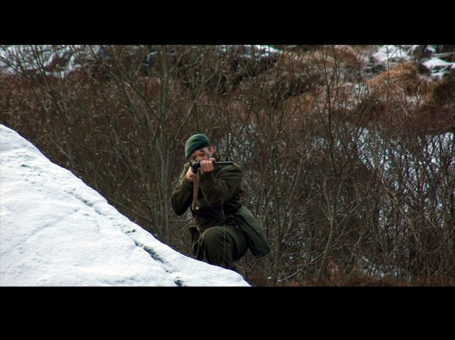 MILORG D19 (2005): A larp depicting the Norwegian resistance during Second World War. Photo: Nina S.