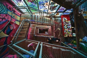 Tacheles stairs, Berlin. Photo: Paolo Margari (Flickr/Creative Commons)