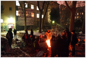Refugee Squat, Berlin. Photo: Montecruz Foto (Flickr/Creative Commons)