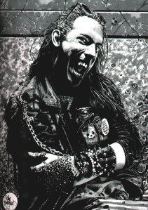 Tim Bradstreet: Brujah. Vampire: the Masquerade.